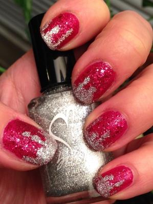 Zoya/B.i.t.c.h. by Jacyln Christmas textured mani